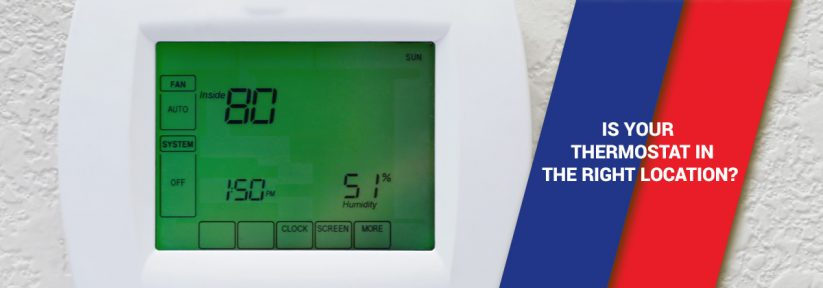 Is Your Thermostat in the Right Location?