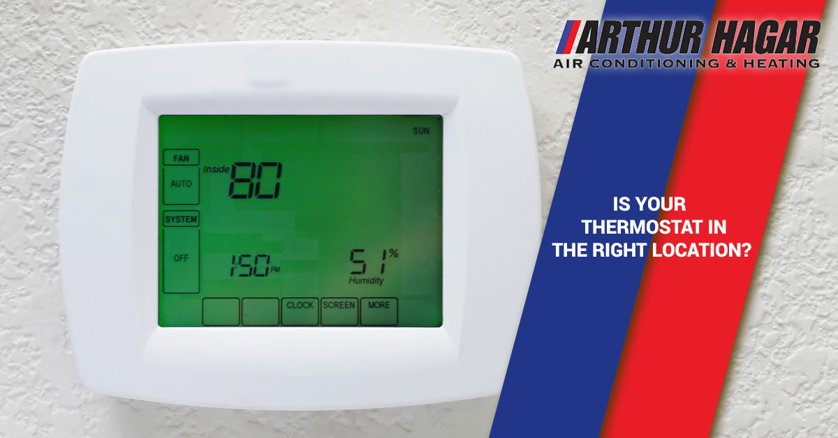 residential hvac tips where is the best place to install your thermostat. Black Bedroom Furniture Sets. Home Design Ideas